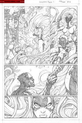 Joe Madureira - Inhuman #1, p.21