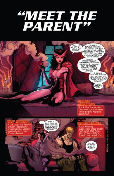 Gerardo Sandoval - New Avengers #11 p.2 © Gerardo Sandoval / Marvel